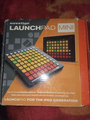 Novation Launchpad Mini Compact USB Grid Controller for Ableton Live MK2 Version