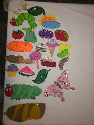 Felt Board Flannel Story Rhyme Teacher Resource - The Very Hungry Caterpillar