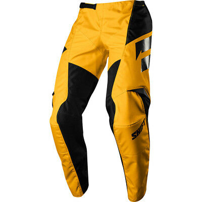Shift NEW Mx 2018 WHIT3 Label Ninety Seven Yellow Kids Youth Motocross Pants