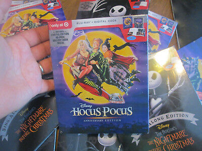 Disney Hocus Pocus Blu Ray Digital Anniversary Edition 40 Page Book Target New