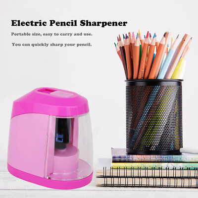 KW-TRIO Electric Pencil Sharpener Automatic Desktop Stationery Sharpener TY