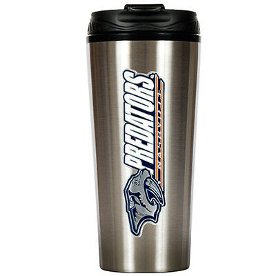 Nashville Predators NHL 16oz Insulated Stainless Travel Tumbler Thermos Mug Cafe