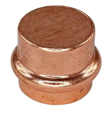 Conex Banninger B-PRESS WATER END CAP Copper, Flame Free- 32mm, 40mm Or 50mm