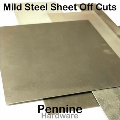1 Kg Mild Steel SHEET Guillotine Cut Off Cuts  car patching MIG Welding Practice