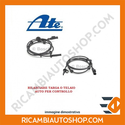Sensore Abs Posteriore Ate Ford Fiesta 4 1.3 I Kw:44 1995>2002 360036