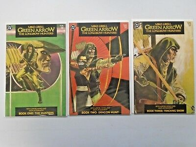 Green Arrow The Longbow Hunters (DC 1987) Set:#1-3, 6.0 - 1987