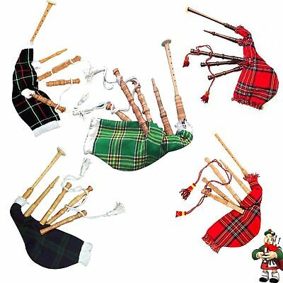 Kids Playable Bagpipe/Junior Playable Bagpipes Toy Bagpipe In Various Tartans