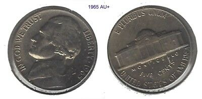 US 1965 Jefferson Nickel ..... Very Nice Coin !!!