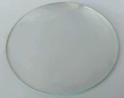 Round Convex Clock Glass Diameter 6 4/16''' 159mm