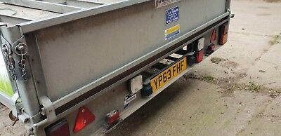 Ifor williams tri axle trailer