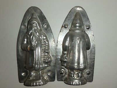 Antike Schokoladenform NIKOLAUS WEIHNACHT SANTA CLAUS antique chocolate mold
