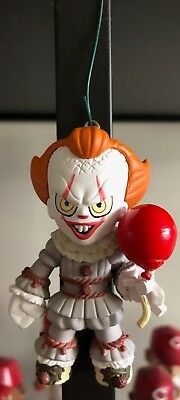 "Pennywise IT Ornament OOAK Funko 3"" Custom Christmas 2018 Mini Horror Balloon"