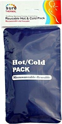 Sure Thermal Reusable Hot Heat & Cold Cool Gel First Aid Microwave/Freeze Pack
