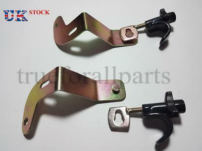 2x Additional Door Lock Anti-Theft Safety Truck Lorry MERCEDES ACTROS MP4 9/2011