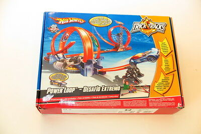 Hot Wheels Bahn Hotwheels Power Loop in OVP