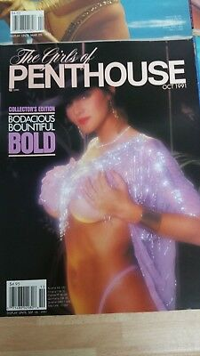 Penthouse US Heft The Girls of PH 10 / 1991