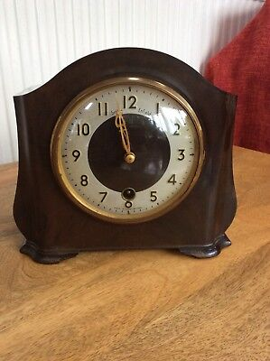 Rare Vintage Smiths Enfield Mantle Clock C1954