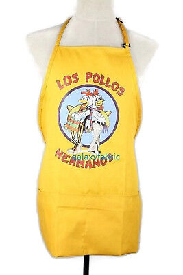 LOS POLLOS HERMANOS APRON Cooking costume moth heisenberg Breaking Bad