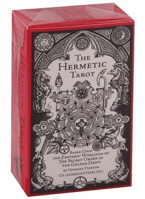 The Hermetic Tarot 78 Card Deck By Godfrey Dowson U.s. Games  Made In Italy 2006