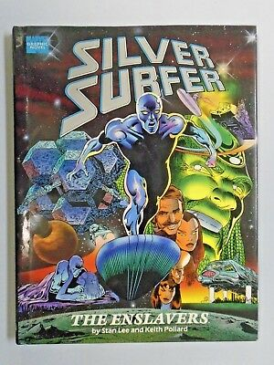 Silver Surfer The Enslavers #1 - hardcover - see pics - 5.0 - 1990