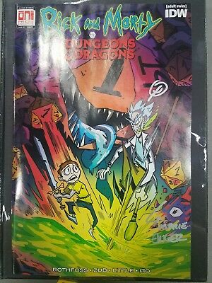 Rick And Morty Vs Dungeons And Dragons #1 Variant PAX West Exclusive!!