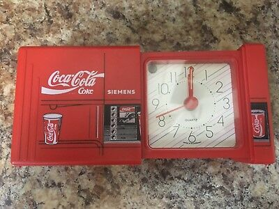 "Antique Coca Cola ""SIEMENS"" Coke Soda Pop Machine Old Germany Alarm Clock"