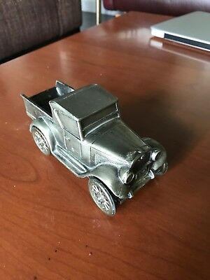 VTG Brass Bank By Banthrico, Old 1928 Chevy Pick Up Truck