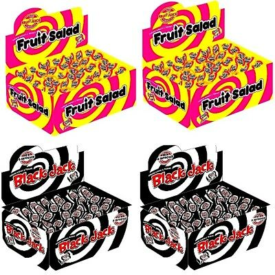 100 x Black Jack Fruit Salad Retro Sweets Party BARRATT EASTER FATHERS DAY