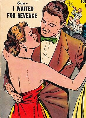 Love Confessions #34 Golden Age Pre-Code: Quality Comics Sultan/beck Art (1953)