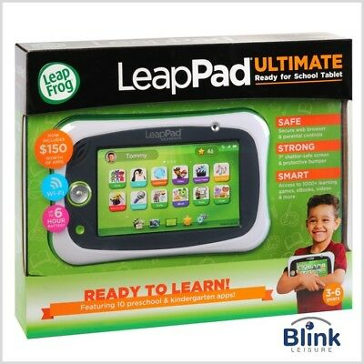 LeapFrog LeapPad Ultimate Ready For School Bundle Green 3-6 Years $150 Free Apps