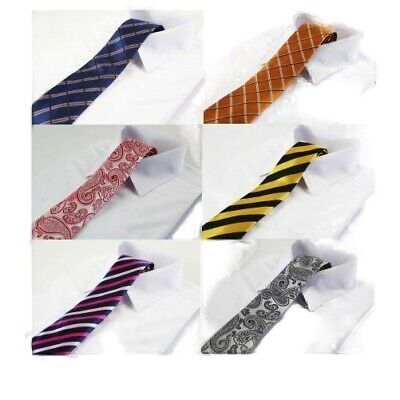 NECK TIE HIGH QUALITY Mens Patterned Wedding Birthday Necktie - Many Designs