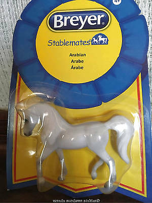 Breyer Collectable Model Horses Stablemate White Arabian