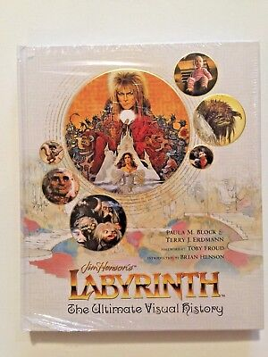 Labyrinth: The Ultimate Visual History [Hardcover] [Oct 2016] by Block .. sealed