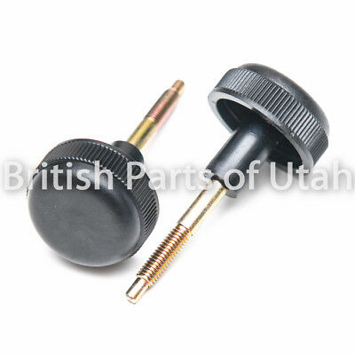 land rover defender 90 110 interior dash fuse box cover screw bolt knob x2
