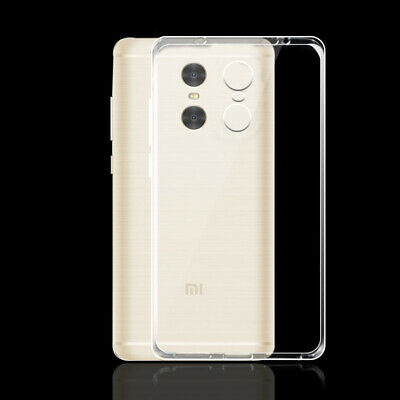 Case For Xiaomi Redmi Pro Ultra Thin Crystal Clear Silicone TPU Back Shell Cover
