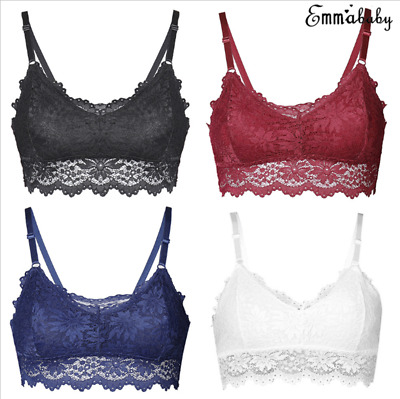 One Size Strappy Lace Floral Wrapped Chest Female Bras Underwear Women Clothes #