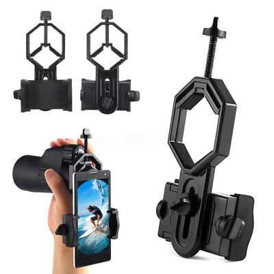 Universal Optical Monocular Telescope Holder Clip Mount Bracket For iPhone CY