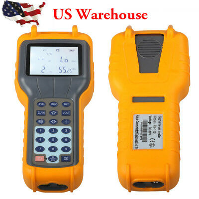 RY S110 CATV Cable TV Handle Digital Signal Level Meter DB Tester Tool USA Ship