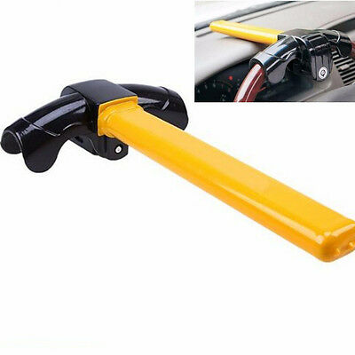 T-Style Heavy Car Suv Anti Theft Device Security Rotary Steering Wheel Turn Lock