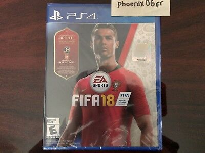 Brand New! FIFA 18 World Cup Russia 2018 EA Sports (PlayStation 4 PS4) Sealed!