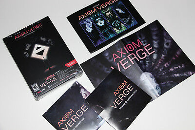 Axiom Verge Multiverse Edition BOX+INSERTS COMPLETE YOUR GAME (NO GAME INCLUDED)