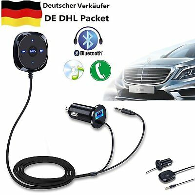 Bluetooth Transmitter Auto Radio MP3 Player Adapter Freisprechanlage for iPhone