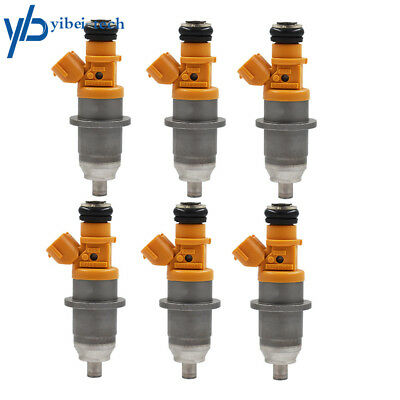 6 Fuel Injector Fit For 03-up 60V-13761-00-00 Yamaha Outboard HPDI 250 300HP Oem