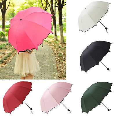 Super Compact Folding Umbrella Windproof Sun Travel Umbrella Women Summer Gift