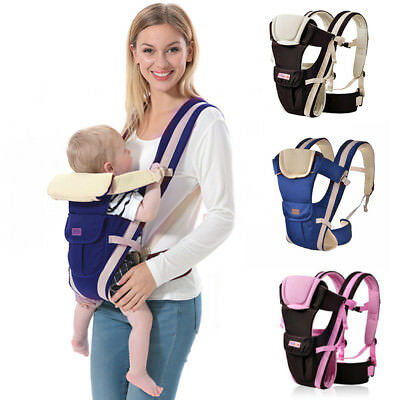 New  Strong Ergonomic Breathable Adjustable Infant Newborn Baby Carrier Backpack