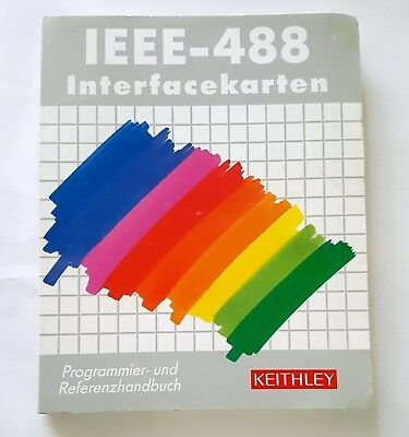 Keithley IEEE-488 Interfacekarten Programmier- und Referenzhandbuch 1993