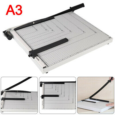 Heavy Duty A3 Photo Paper Cutter Guillotine Home Office Tool Card Trimmer Ruler