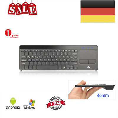 "1byone Bluetooth 3.0 Tastatur w/Touchpad Für alle 7-10"" Android Tablet Windows"