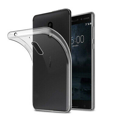 Case For Nokia 6 Protective Ultra Thin Crystal Clear Soft Silicone TPU Cover