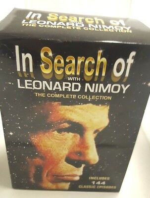 In Search Of With Leonard Nimoy -Complete Collection - DVD Set *New*